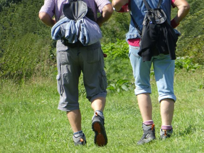 Ready for a long walk Outdoors People Adult Grass Human Body Part Low Section Togetherness Focus On Foreground Taking Photos EyeEm Selects EyeEm Nature Lover Hiker Leg Walker Backpack Rolled Up Pants Walking Boots Walking In Nature Tranquility EyeEm Gallery Relaxing Moments Sports Enjoying Free Time Connected By Travel Summer Sports