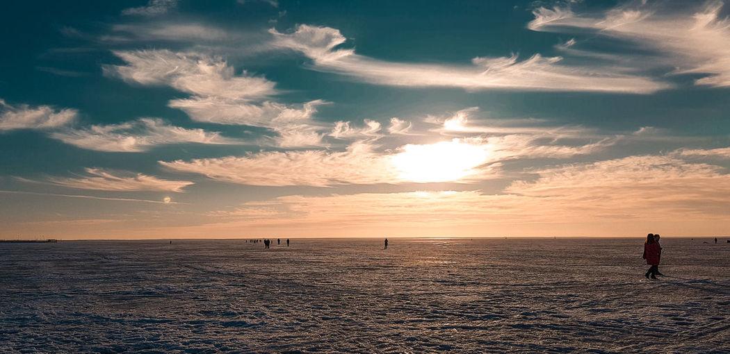Water Sea Sand Dune Sunset Beach Sand Full Length Desert Low Tide Sunlight Romantic Sky Salt Basin Atmospheric Mood Atmosphere Dramatic Sky Silhouette Seascape Sky Only Majestic Forked Lightning Tide Moody Sky Coast Shore Calm