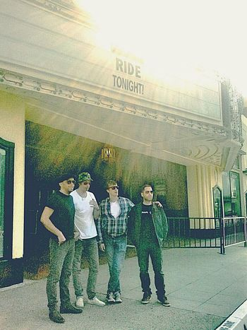 Ride Live!!! LIVE! Fox Theater Rockstars Shoegaze Shoegazing Pomona