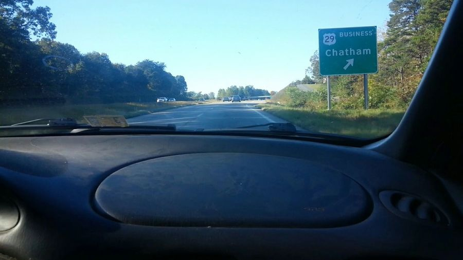 United States Of America Chatham, Va Usa Virginia Tupponce Photography David Tupponce Highway 29N Driving Travel Heading Home