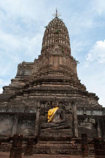 Wat Mahathat Against Sky