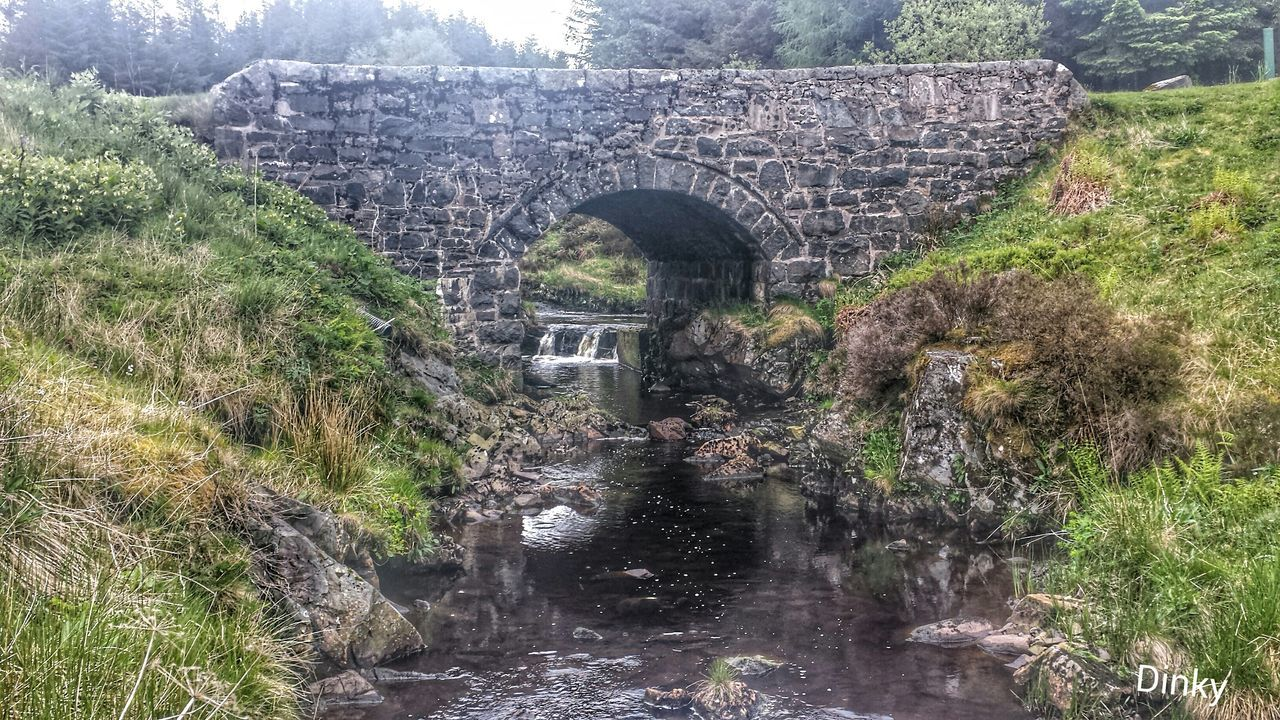 architecture, built structure, bridge - man made structure, history, day, arch, outdoors, no people, tree, old ruin, plant, nature, water, beauty in nature, ancient civilization, sky