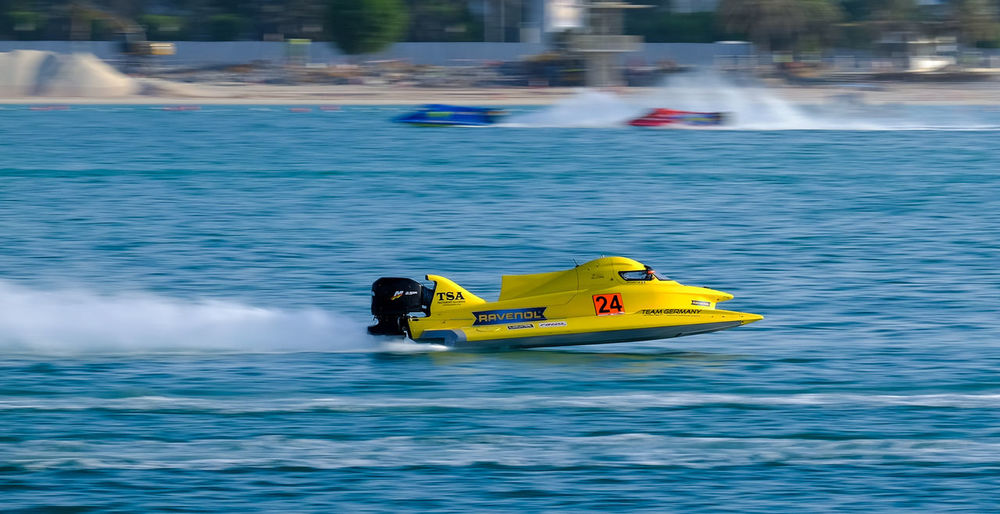 F4F Day F1h20 F1h20 Abudhabi Mode Of Transport Nature Nautical Vessel Outdoors Panning Shots Panningphotography Transportation Water Water Sports Waterfront first eyeem photo