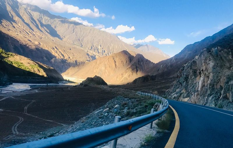 Mountain Sky Mountain Range Beauty In Nature Scenics - Nature Road Tranquil Scene Landscape My Best Photo