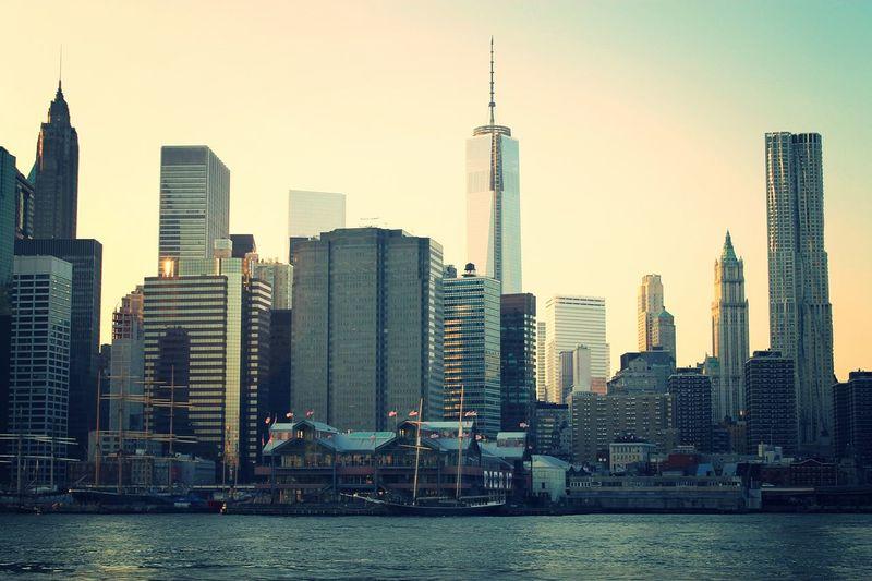Lower Manhattan Lower Manhattan From Manhattan To Brooklyn Brooklyn NYC