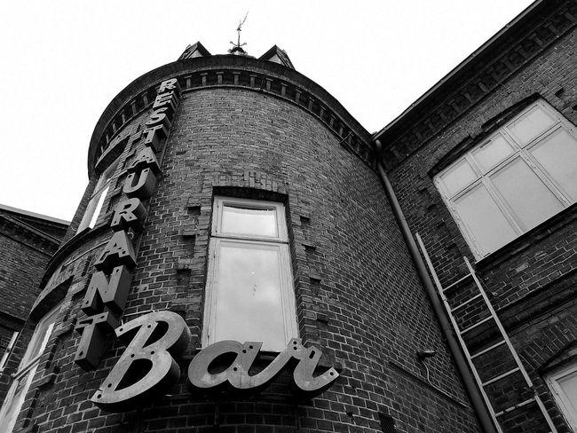 Bastad Sweden Bar Restaurant First Eyeem Photo Monochrome Blackandwhite