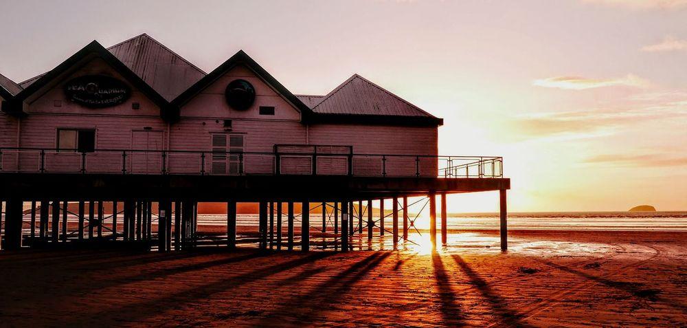 Pier Westonsupermare WsM Beach Sunset