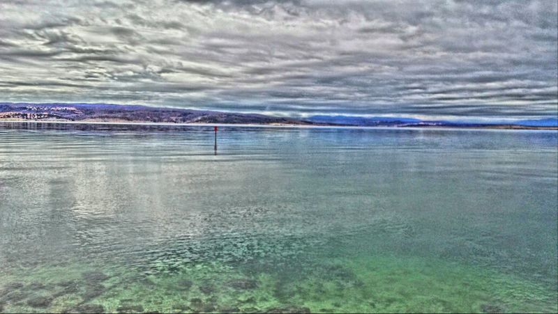 Hello World Sea Hdr_arts  Hdr_lovers#clouds