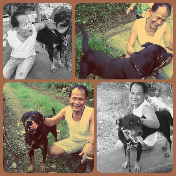 Father & his lovely dog Hi! Hello World Enjoying Life Justshoot Best Friends Beaitiful Moment Beutiful Day Father
