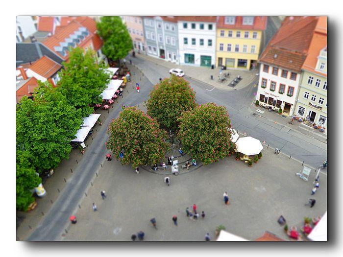 Taking Photos Erfurtcity Enjoying Life Eye4photography  Mai2016 Architecturephotography Miniature Effects Panasonic DMC FZ1000