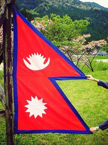 Mero desh mero NEPAL Flags Nepal