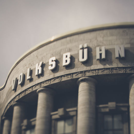 Volksbühne Berlin Mitte Volksbühne Architecture Travel Destinations Outdoors Day City No People Built Structure Discover Berlin The Week On EyeEm