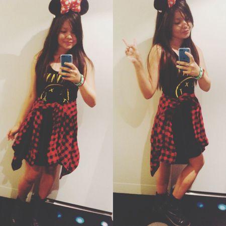 Jgh from Disney sea ❤️✌️??? Swag Fashion Ootd Selfie