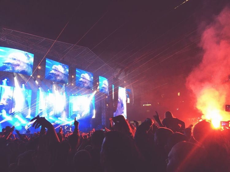 Stone Roses Concert Concert Manchester First Eyeem Photo