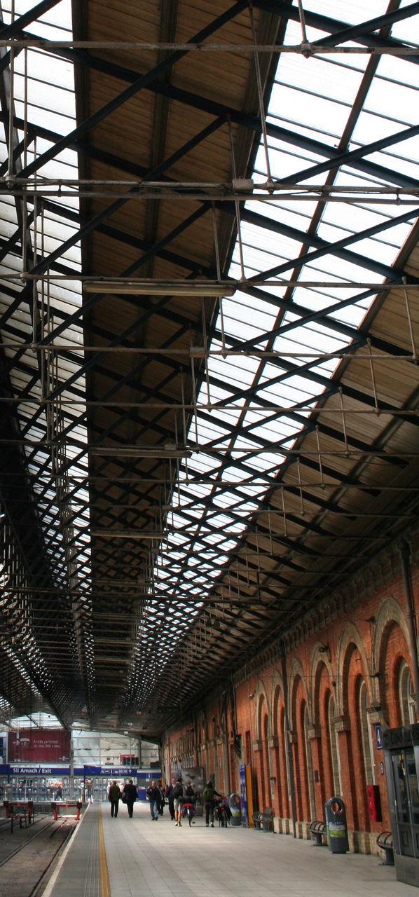 Interior Of Railroad Station