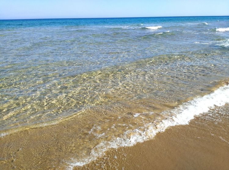 Sea Beach Water Sand Nature Beauty In Nature Day Outdoors No People Tranquility Wave Nature Backgrounds Seascape Sea