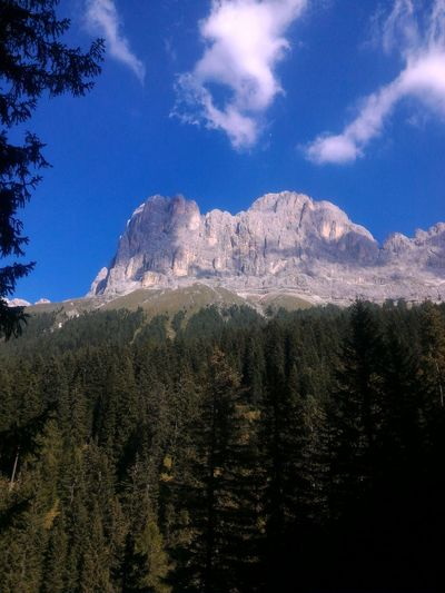 Mountains Summer Views Trentino Alto Adige Trekking
