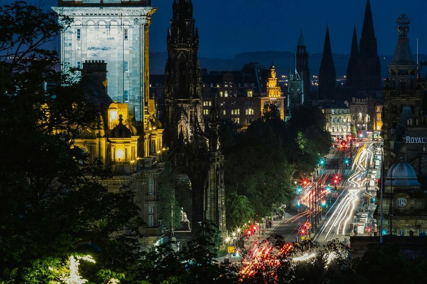 Edinburgh, Scotland Cityscapes