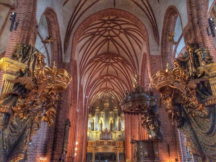 Cathedral urban building Church Religious Architecture Swedish Landmarks Stockholm cathedral, natural light,
