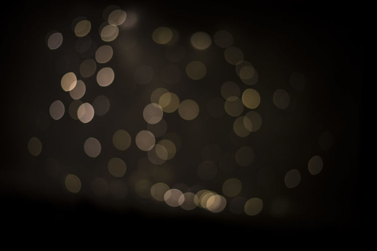 Abstract Backgrounds Black Background Bokeh Close-up Defocused Illuminated Night No People Outdoors Pattern