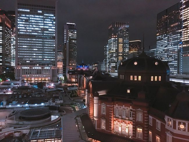 Tokyostation Nightview Japan