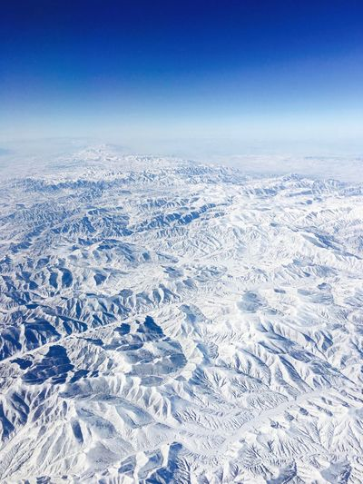 Flight Mountain Beauty In Nature Scenics - Nature White Color Tranquil Scene Landscape Snowcapped Mountain Frozen Environment Nature Aerial View Sky