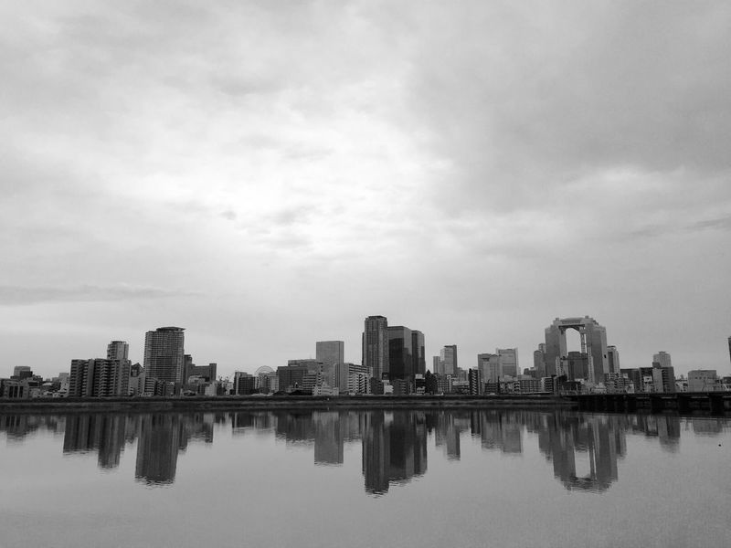 Morning Run OSAKA Running Umeda 大阪 スカイヒルディングル Umeda Sky Building 淀川 Cityscapes Buildings