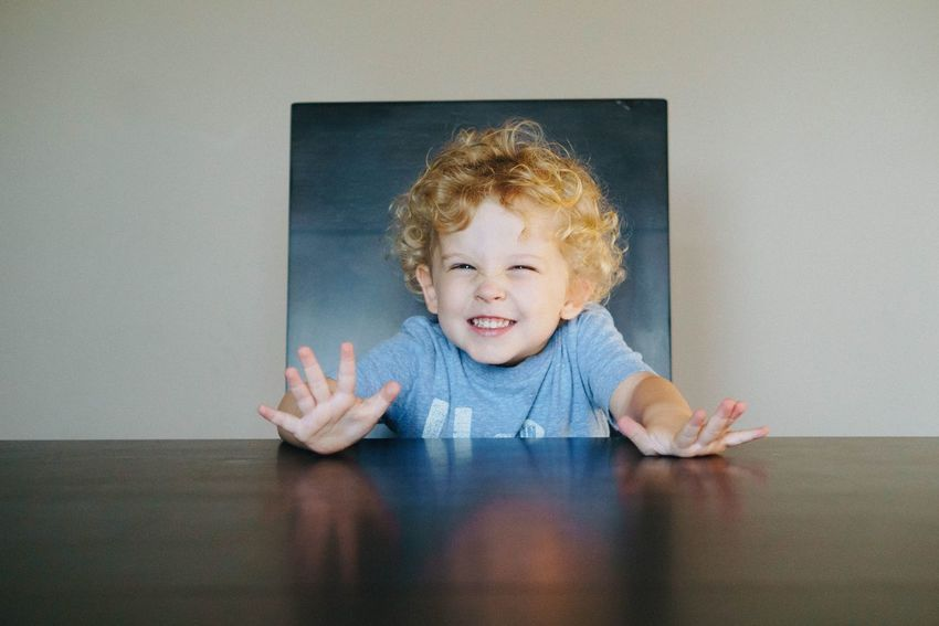 EyeEm Selects Human Hand Child Childhood Smiling Cheerful Boys Gesturing Close-up