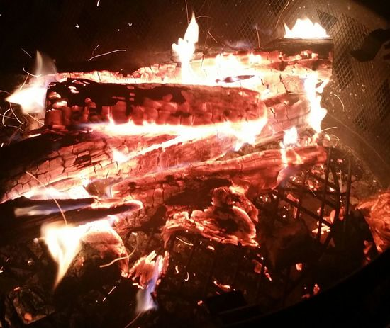 Red No People Bonfire Fire Flame Flames Flames & Fire Burning Wood Burning Coals