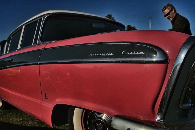 Timages AMC Ambassador Amcambassador Classic Car Classiccar CarShow Indianwells California
