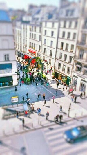 Paris Miniature Street Rue Des Petits Carreaux France Tiltshift