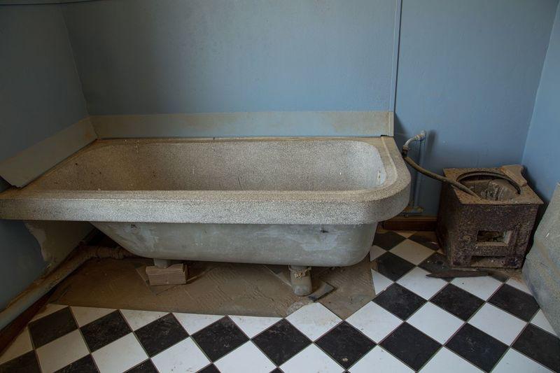 Bathroom of an