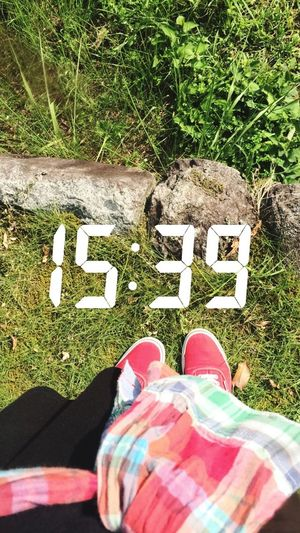 Break Time Studying I'm going to have to work hard so that I won't have any regrets later on Green Shoes 3oclock Plenty Of Greenery Nuture