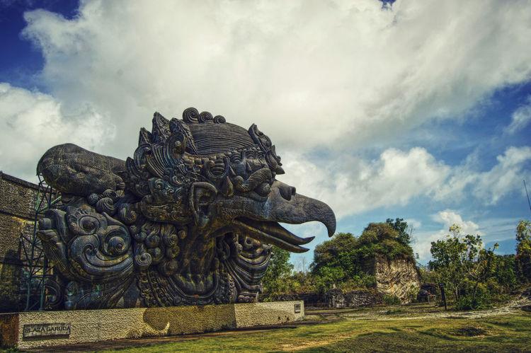 Badung Bali Beautiful Cultural Destination Garuda Wisnu Kencana Giant Huge Monument No People Outdoors Park Potography Scene Statue Tourism Travel Ungasan