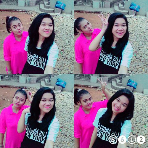 With sista