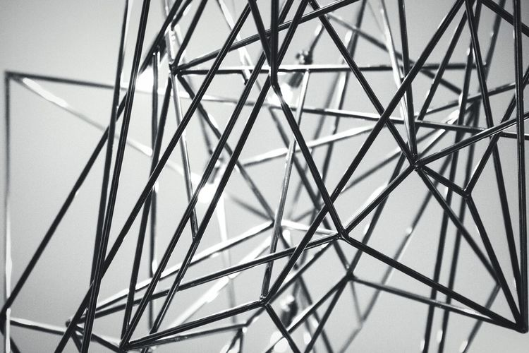 Metal Web Open Edit EyeEm Best Edits Blackandwhite Monochrome Minimalism Minimalobsession Lines Metal Abstract Web Maze Chaos Art Design Interior Design Light And Shadow Urban Geometry Geometry Geometric Shapes ArtWork Canon 70d Decoration Metallic Material Shine