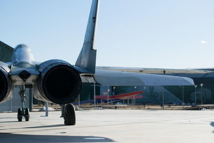 Aerospace Industry Airplane Airport Airport Runway Day Jet Engine No People Outdoors Passenger Boarding Bridge Refueling Transportation Travel