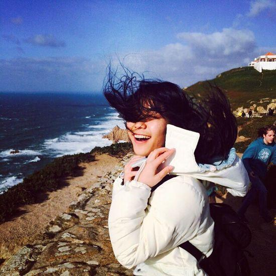 Traveling Sea Cabo Da Roca Portugal