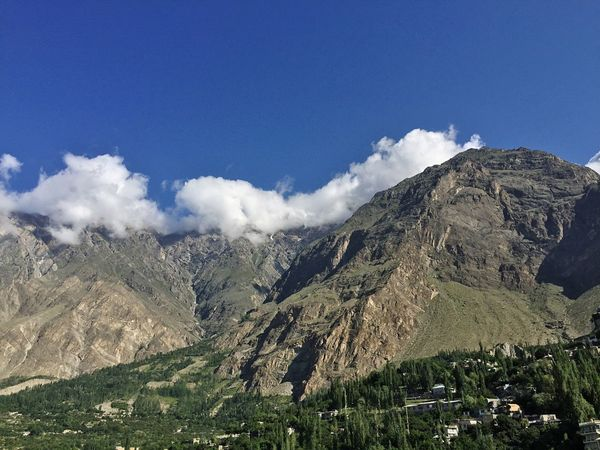 Beautiful View Traveling Mountains Mountain Range Hunza Valley Pakistan My Country In A Photo Capture The Moment Hunza Karimabad Baltit Fort Hunza