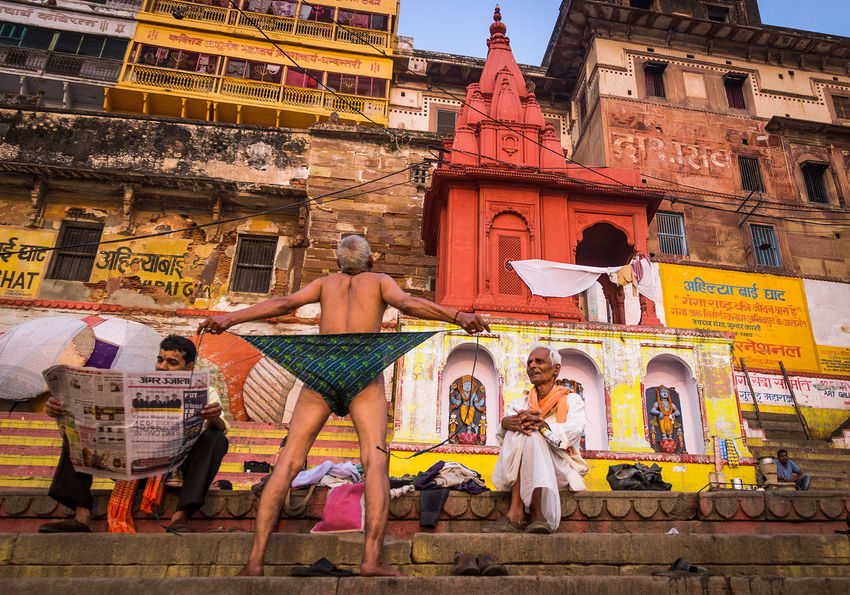 ganga river varansi Group Of People Architecture Spirituality Day Place Of Worship Lifestyles Leisure Activity Belief Real People Varanasi Ganga River Devotional Piligrim God Faith Tample Ancient History