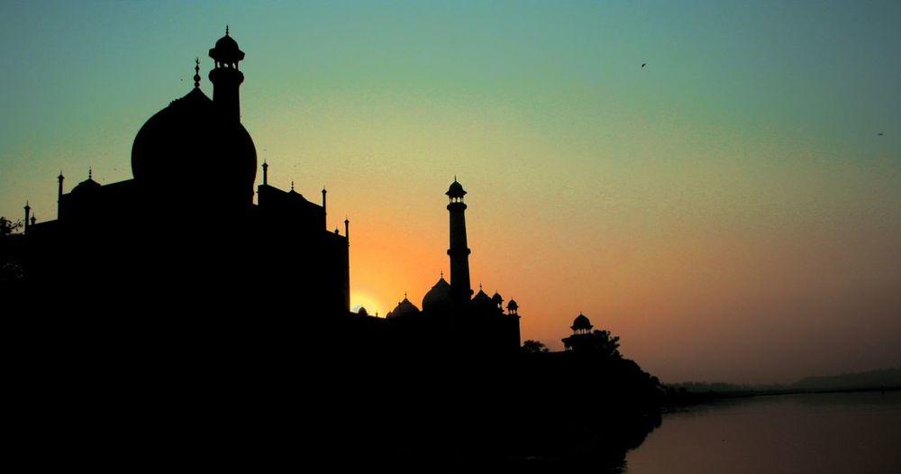 Taj From Yamuna