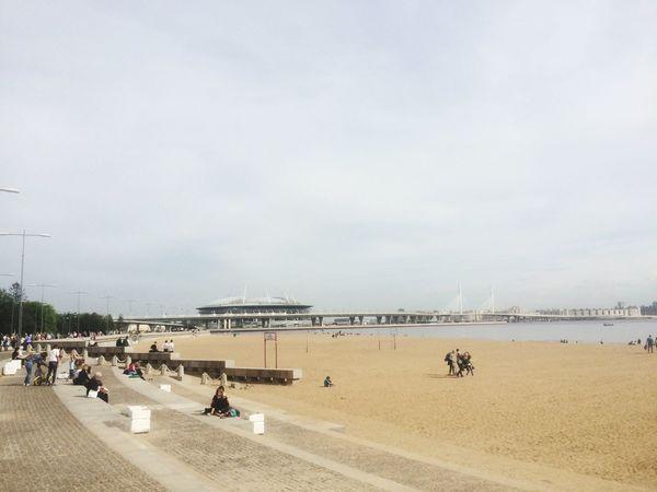 Water Beach Sky Land Sea Sand Built Structure