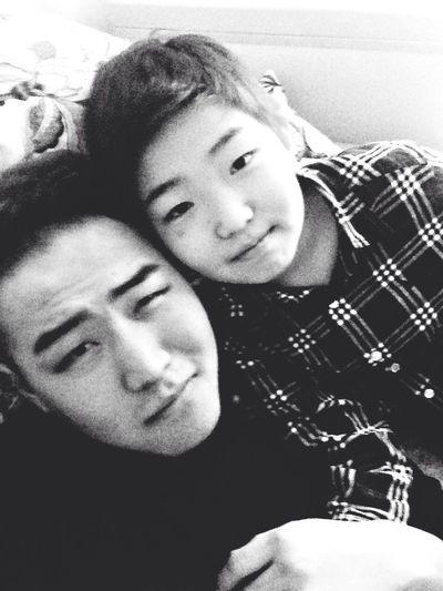 With ma bro
