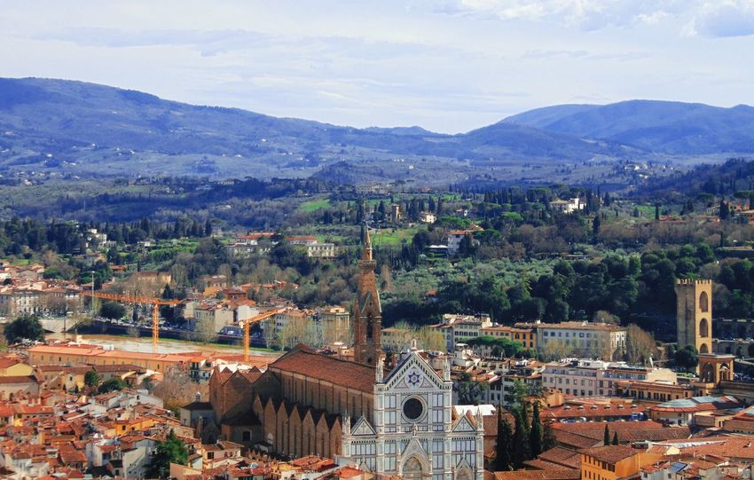 Hill Hills Countryside Nature Art Architecture Santa Croce Firenze Florence Toscana Tuscany Travel Travel Destinations Marble History Italy Italia Landscape Italian Landscapes