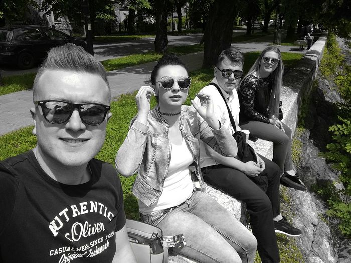 Sommergefühle Outdoors Friends Day Chilling ✌