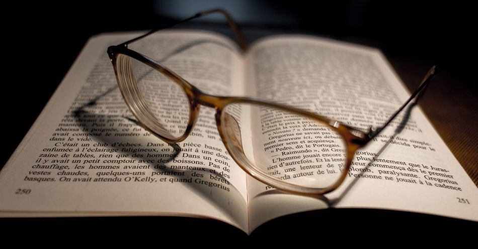 Eyeglasses  Book Education Page No People Indoors  Close-up Day EyeEmNewHere Art Is Everywhere BYOPaper!