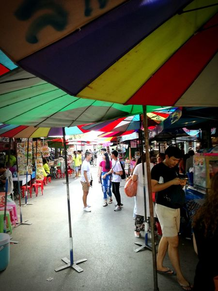 Large Group Of People City Life Store Market Market Stall Multi Colored Day P9LitePhilippines