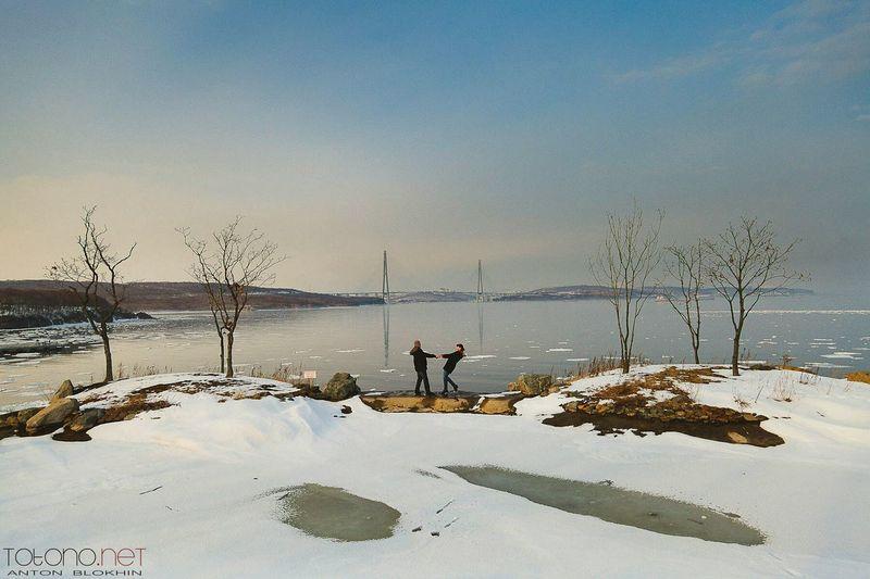 Taking Photos Enjoying Life Portrait Love Popular Photos Lovestory Vladivostok Sea And Sky Snow