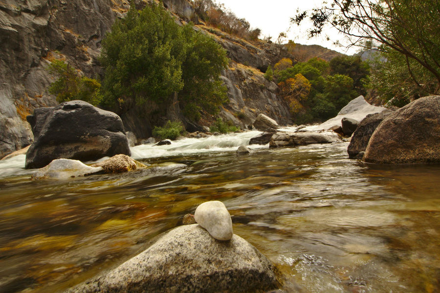 California Kings Canyon Beauty In Nature Day Nature No People Outdoors River Rock Rock - Object Water
