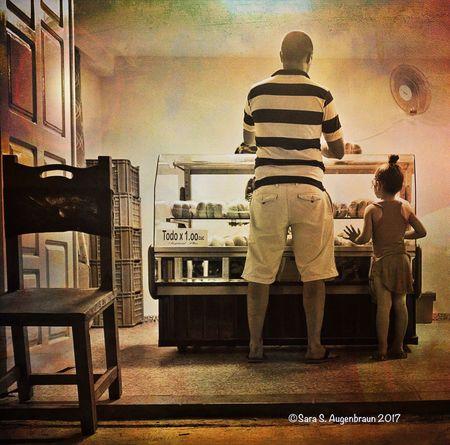 Buying Treats for His Daughter, Vinales, Cuba, 2017 Streetphotography Cuba Collection Cuba2017 Cuba Cuban Life Olympus Mirrorless Snapseed Cuban People Cuban Style Cuba Streets Vinales Cuba